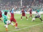 Trabzonspor Bursa'da yara aldı