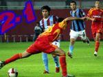 Trabzon ilk yarıda işi bitirdi: 2-1