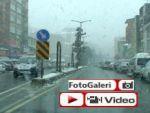 Rize Pazar'dan kar manzaraları