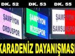 Trabzon'da Karadeniz kaynaşması