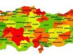 2011 yılının Türkiye göç haritası