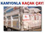 Van'da 3,3 ton kaçak çay ele geçirildi