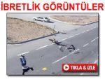 Trafik kazalarından ibretlik MOBESE görüntüleri