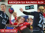 Ardeşen GSK, Sırp rakibini 30-25 mağlup etti