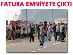 Hopa'da iftar TIR'ına saldırının faturası emniyete
