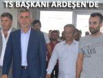 Trabzonspor Başkanı Hacıosmanoğlu Ardeşen'de