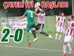 Ardeşenspor lige Çayeli mağlubiyetiyle başladı