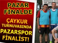 Çaykur turnuvasında Pazarspor finale yükseldi