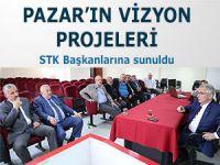 Pazar'ın vizyon projeleri STK'lara tanıtıldı