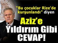 RİZESPOR'DAN AZİZ YILDIRIM'A CEVAP!