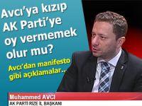 """İl Başkanı Avcı açıkladı """"Neden Ak Parti"""""""
