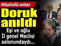 MERHUM HAKAN DORUK, İL GENEL MECLİSİ'NDE ANILDI