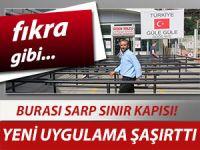 SARP SINIR KAPISI'NDA FIKRA GİBİ LABİRENT