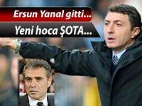 Trabzonspor'da Ersun Yanal gitti Şota geldi