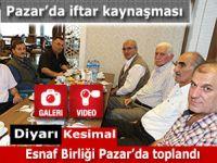 Esnaf Odalar Birliği Pazar'da kaynaşma iftarı tertipledi