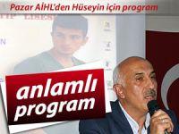Pazar AİHL'den Hüseyin için iftar programı