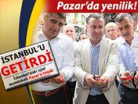 İstanbul'daki konfor ve kaliteyi Pazar'a taşıdı