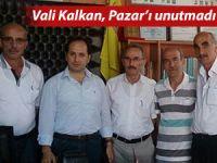 VALİ KALKAN'DAN PAZAR'A ZİYARET