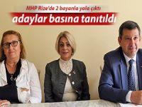 MHP Rize'de 3 milletvekili adayından 2'sini bayanlardan seçti