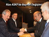 Rize Amatör Spor Kulüpleri Federasyonu'nda başkan değişti