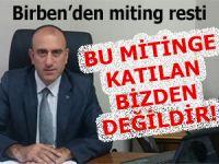 MHP Rize İl Başkanı: 'Bu mitinge giden bizden değildir!'