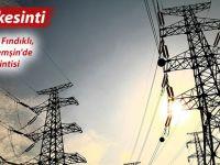 Rize'nin 5 ilçesinde pazar günü 7 saat elektrik kesintisi