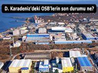 D. Karadeniz'deki OSB'lerin son durumu ne?