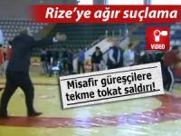 Akhisarlı güreşçilerden 'Rize'de saldırıya uğradık' iddiası!