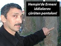 Hemşin'de Ermeni iddialarını çürüten pantolon!