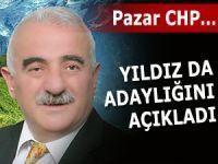 Yıldız da CHP Pazar'da başkanlığa aday oldu