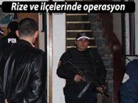 RİZE'DE EMNİYETLİ HAFTA SONU