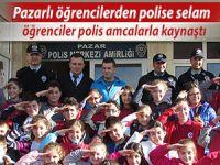 Pazar Emniyet'in misafiri bu kez Hamidiye Çözüm Koleji
