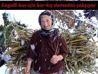 82 yaşındaki kadın, engelli kızını böyle bakıyor
