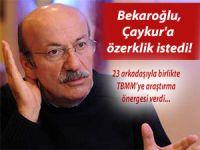 BEKAROĞLU ÇAYKUR'A ÖZERKLİK İSTEDİ!