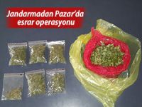 JANDARMADAN PAZAR'DA OPERASYON