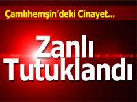 RİZE'DE YAKALANAN CİNAYET ZANLISI TUTUKLANDI