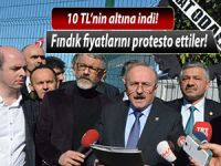 FINDIK FİYATI PROTESTOSU
