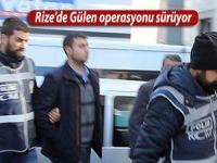 Rize'de Gülen operasyonları sürüyor