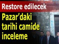 Tarihi Pazar Hasköy Camii restore edilecek