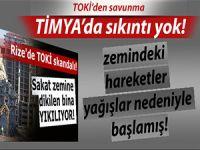 TOKİ'den Rize Timya projesine savunma