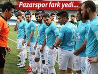 Pazarspor Konya'da umutları tüketti