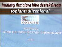 Rize'deki imalatçı firmalara hibe destek fırsatı
