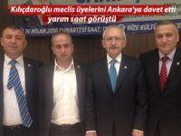 Kılıçdaroğlu meclis üyelerini Ankara'ya davet etti