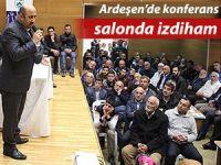 Ardeşen'deki konferansta izdiham yaşandı