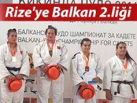Rize'ye judoda Balkan ikinciliği getirdi