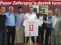 Pazar Zaferspor, destek turlarına başladı