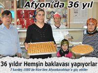 Rizeli Baklava Ustası, Afyonkarahisar'da 36 yılı devirdi