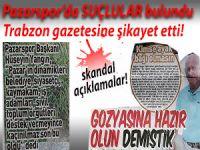 Pazarspor'u küme düşürenleri İFŞA ETTİ!