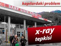 Nakliyecilerden Gürcistan'a 'X-Ray' tepkisi
