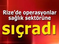 Rize'de 20 sağlık çalışanı görevlerinden alındı